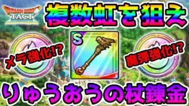 【ドラクエタクト】(Live8/4)りゅうおうの杖錬金開始!! メラを取るか魔弾を取るか!?【DQT】