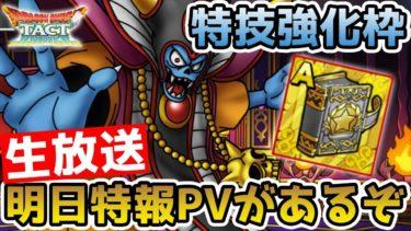 【ドラクエタクト】(Live10/31)特技強化枠!! 次回のナンバリングイベント予想しよう!!【DQT】